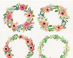 6 acuarela flores funerarias