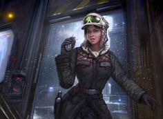 Star Wars Art Gallery | Star Wars - Rebel Intel Officer by ~TheFirstAngel on deviantART