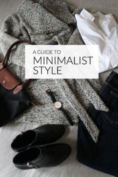 keep your wardrobe minimal.
