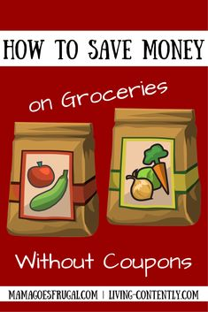 6 easy ways for how to save money on groceries even if you're not a couponer. Use these tips to make the most of your grocery budget!