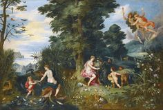 Jan Brueghel II + Hendrick van Balen.- ALLEGORY OF THE FOUR ELEMENTS | da ros_with_a_prince