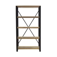 Bookshelves and Wall Units - Alps Bookcase 5 Shelf (PI)