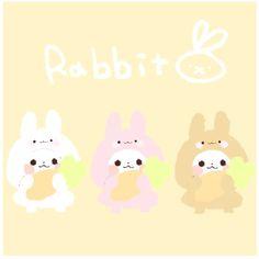 Panda Rabbit Cartoon Panda, Panda Bears, Kawaii Cute, Manga Art, Cute Drawings, Cute Art, Hello Kitty, Rabbit, Super Cute