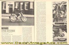 1967 Batavus Flying Dutchman Cycle Road Impression