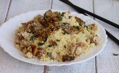 Il cous cous con funghi porcini è un piatto unico facile e veloce da poter servire sia caldo che freddo. Autunnale e saporito, ottimo se si ha poco tempo.