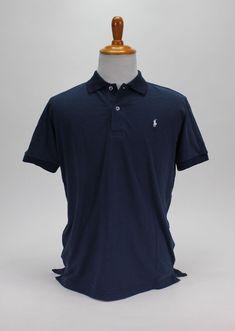 90d60863 Polo Ralph Lauren Men's Classic-Fit NZD Polo Shirt Blue Size XL 100% Cotton