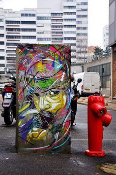 Street art - Street artist - C215 [Christian Guémy]