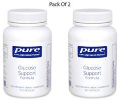 Pure-Encapsulations-Glucose-Support-Formula-60-VegCapsules-2-PACK-Exp-2-18-SD