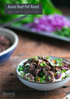 Five Approaches To Economize Transforming Your Kitchen Area Asian Beef Pot Roast - Low Carb and Paleo Beef Pot Roast, Pot Roast Recipes, Chicken Recipes, Keto Side Dishes, Side Dish Recipes, Beef Dishes, Best Low Carb Recipes, Paleo Recipes, Asian Recipes