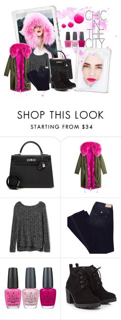"""""""Senza titolo #168"""" by tulipano89 on Polyvore featuring moda, Hermès, Gap, True Religion, OPI, Red Herring e Topshop"""