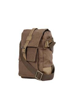 Baggit Unisex Brown Sling Bag | Myntra | ACCESSORIES | Pinterest ...
