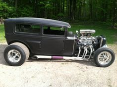 ('30 Ford Model 'A' Rat Rod)
