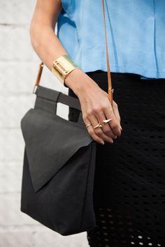 Sarah Sherman Samuel:style: swing top & laser cut skirt   Sarah Sherman…
