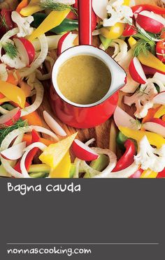 """Bagna cauda 