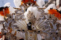 King of Zulu waves to the crowd in New Orleans at Mardi Gras
