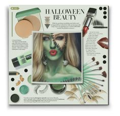 """Behind the Mask: Halloween Makeup"" by hanicelma ❤ liked on Polyvore featuring beauty, Clinique, Terre Mère, Bobbi Brown Cosmetics, Chanel, Trish McEvoy, PaintGlow and halloweenmakeup"