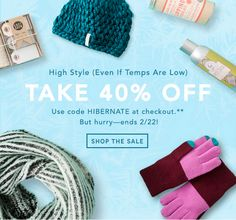 Birchbox Winter Clearance - Save 40% with Coupon! - http://mommysplurge.com/2015/02/birchbox-winter-clearance-save-40-with-coupon/