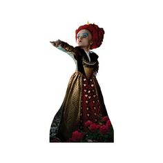 Alice In Wonderland - Red Queen Cardboard Cutouts ($40) ❤ liked on Polyvore featuring alice