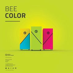 Bee color -beehappy! Modern beehives. greenstreethouse.pl