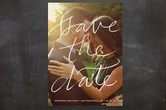 Boutique Save the Date Postcards by Laura Condouris at minted.com