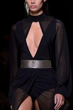 BLACK CLOTHES - moschino-s: Balmain / SS17 RTW –