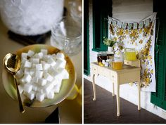 3. Drink Table... - DIY Wedding Ideas on a Budget: Guest Blogger Poppies & Sunshine → Wedding