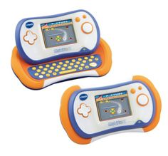 Vtech MobiGo 2 - Orange 135803 New and improved handheld gaming system for the preschool child!With its compact and stylish design and touch sensitive ?finger touch? screen for interactive play children will learn and have fun at t http://www.comparestoreprices.co.uk/childs-toys/vtech-mobigo-2--orange-135803.asp