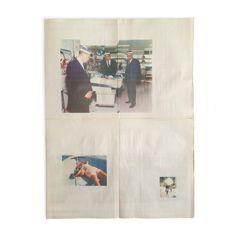 Image of MARTINE SYMS & KAHLIL JOSEPH - NEWSPAPER PRINT