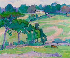 Robert Polhill Bevan. Landscape