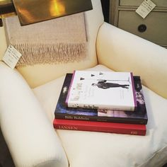 """""""Sometimes all you need are the #classics. A pair of #reupholstered #antique club chairs, an antique #brass floor #lamp or maybe just a good #design #book - visit us on Franklin Street and revisit some of these #classic must-haves. #vandaytruex #jansen #billybaldwin #outofprint #newportri #rhodeisland #interiordesign #decoration"""" Photo taken by @newportlampandshadecompany on Instagram, pinned via the InstaPin iOS App! http://www.instapinapp.com (05/26/2015)"""