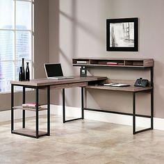 Oficina al estilo rústico. Muebles de forja y madera con diseños especiales www.fustaiferro.com #interiorismo #decor