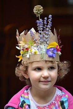 10 Beautiful DIY Nature Crowns