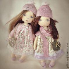 Коллекционные куклы ручной работы. Ярмарка Мастеров - ручная работа Бекки и Холли. Handmade.