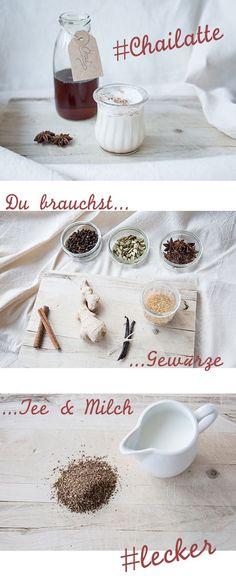 DIY Chai Latte Rezept! Was wäre die Winterzeit nur ohne #ChaiLatte? Ab sofort wird Sie der Barista Ihres Vertrauens sehr vermissen, denn wir verraten Ihnen, wie Sie den leckeren Sirup für Chai Latte selbst herstellen können – natürlich ganz ohne künstliche Zusatzstoffe