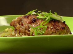Garlic Chicken in Casserole with Israeli Couscous