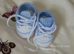 Crocheted sneaker Patterns