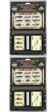 2pk Lures Of The Past Playing Cards New