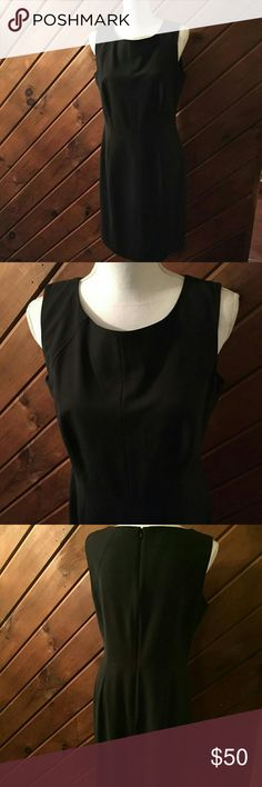 TALBOTS WOOL/NYLON DRESS!! Brand new. String never cut for small slit in back. Perfect. Talbots Dresses