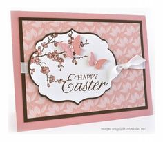 Easter Blossoms by mcalexab - Cards and Paper Crafts at Splitcoaststampers