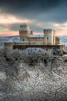 Castello di Torrechiara, Italy | Alberto Ghizzi Panizza