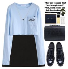 """""""Some people use their imagination!"""" by m-zineta ❤ liked on Polyvore featuring Oscar de la Renta, Marni, Nearly Natural, Sephora Collection and Givenchy"""