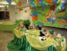 Dora And Diego Birthday Party