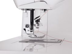 SINGER One Easy-to-Use Computerized Sewing Machine #crafts #handmade    SINGER One Easy-to-Use Computerized Sewing Machine The SINGER One sewing machine features the SwiftSmart Threading System with one-touch automatic needle threader. The Drop & Sew Bobbin System is a top drop-in bobbin system that doesn�t require you to pick up the bobbin thread for a quick and easy start. The presser foot sensor ensures that your presser foot is in the correct position for sewing, the perfect feat..