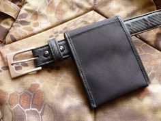 Ru Titley Knives — C.A.P.E Belter pouch . Kindly sent to me by the...