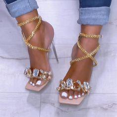 Gold Sandals, Gold Heels, Pumps Heels, High Heels Sandals, Gold Platform Heels, Bling Heels, Trendy Sandals, High Heel Sneakers, High Heel Pumps