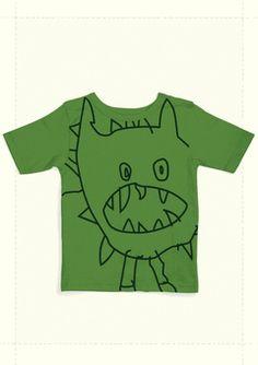 Green Yucky Shirt by North American Bear Company
