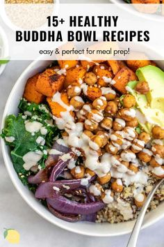 Chickpea Recipes Easy, Easy Healthy Recipes, Healthy Cooking, Healthy Life, Healthy Food, Quick Weeknight Meals, Easy Meals, Easy Vegetarian Dinner, Buddha Bowl