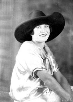 """Lorena Trickey (1893-1961) ... Champion All-around Cowgirl, Cheyenne Frontier Days 1920, '21, '24. Doubled Mary Pickford and worked w/ Tom Mix in the movie """"Queen of Sheba."""" In 1927 was accused of stabbing to death her common-law husband, pleaded self-defense, and was found not guilty. Retired from rodeo the next year (1928).  Was inducted into the National Cowboy Hall of Fame's Rodeo Hall of Fame in 2000."""