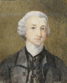 The Reverend George Austen about 1764, 11 years before Jane was born