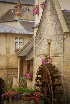 Water Mill , Normandy, France
